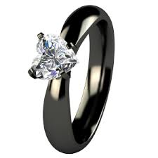 titanium engagement rings striking black engagement rings black diamond ring