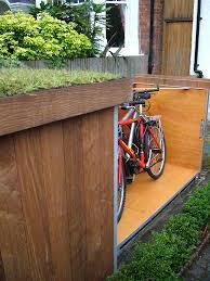 placing outdoor bike storage shed garden landscape home outdoor bike storage shed garage design idea
