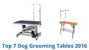 dog hair cutting table 7 best dog grooming tables 2016 youtube