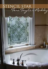 Home Decor Glass 53 Best Glass Mirror Stenciling Images On Pinterest Stenciling