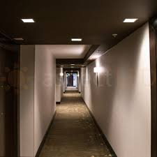 Led Ceiling Can Lights 9 Square Ultra Thin Led Recessed Downlight 18 Watt Aspectled