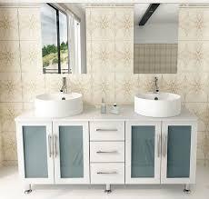 Double Vessel Sink Bathroom Vanities by Contemporary Bathroom Vanities Bathroom Decorating Ideas
