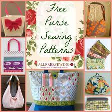 20 free purse sewing patterns allfreesewing