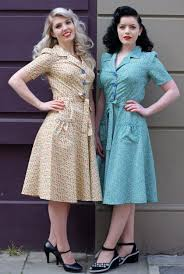 1940 u0027s style day dresses tara starlet c mode 1900 1950