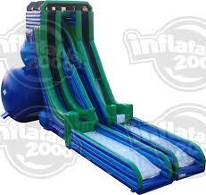 skyslide the world u0027s tallest inflatable water slide