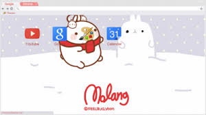 chrome themes cute molang chrome themes themebeta