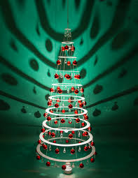 7 5ft decorated hanging tree modern trees