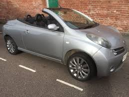 nissan micra engine capacity used nissan micra c c convertible 1 6 essenza 2dr in exeter devon