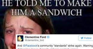 Sexually Disturbing Memes - this woman is calling out facebook s shameful double standard on