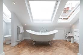Bush Bathtub Painting Add Skylights To Bring Natural Light In 22 Different Bathroom