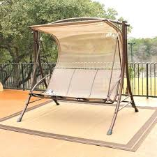 Swinging Patio Chair Patio Furniture Swing Set Travel Messenger