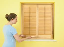 How To Cover A Window by How To Install Plantation Window Shutters How Tos Diy
