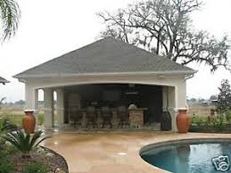 detail pool house plans complete ebay