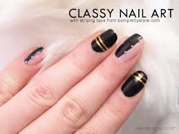 classy nail art tutorial striping tape from bornprettystore
