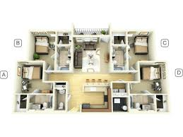 four bedroom townhomes 4 bedroom apartments cus quarters luxury apartments 4 bedroom