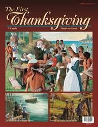 abeka product information the thanksgiving flash a card