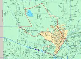 Florida Tech Map by St Tammany Parish Board