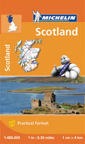 Map Scales Pocket Map To Scotland Michelin Maps U0026 Guides