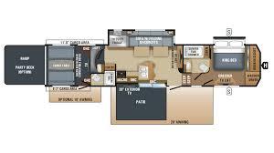 Jayco Eagle Floor Plans by 2018 Jayco Seismic 4212 Model