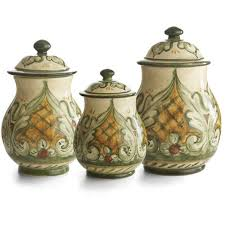 pottery canisters kitchen the 25 best ceramic canister set ideas on kitchen