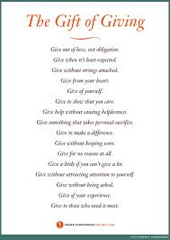 quotes about giving presents inspiring quotes and words