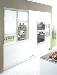 porte coulissante pour meuble de cuisine armoire cuisine coulissante meuble de cuisine coulissant armoire