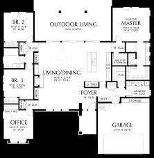 mascord house plan 1247a the baines