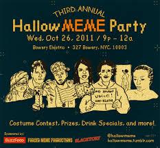 Halloween Party Meme - hallowmeme costume party
