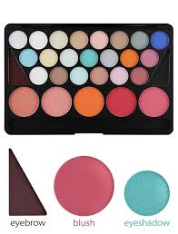 ping brand cosmetics palette professional makeup kit eyeshadow 21 color blush 5 eyebrow 2 foundation