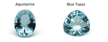 light blue gemstone name the difference between aquamarine and blue topaz purely diamonds