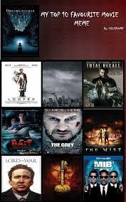 Meme Movies - top 10 best movies meme updated by johntherebelleader on deviantart