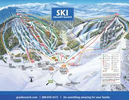 New Mexico Ski Resorts Map by Granby Ranch Co Work A Winter Season