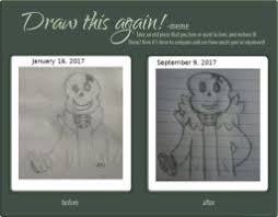 Draw It Again Meme Template - draw this again template by omenaadopts on deviantart