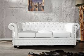 canape chesterfield blanc canapé chesterfield cuir blanc recherche meubles design