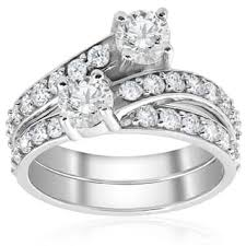 10k wedding ring 10k bridal jewelry sets shop the best wedding ring sets deals