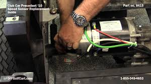 speed sensor for club car motor how to replace on golf cart