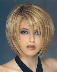 sliced layered chin lengt bob with bangs image detail for cute sliced layered chin length bob haircut front