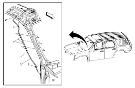 repair instructions sunroof housing front drain hose replacement