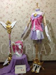 lol league of legends cosplay star guardian lux costume