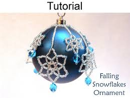 beading tutorial pattern beaded ornaments