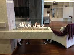 denver basic e ribbon fire bioethanol fire the fireplace company