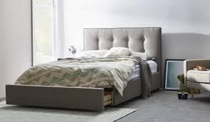 light grey upholstered bed vera fabric upholstered queen bed light grey bedsonline