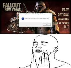 Fallout New Vegas Memes - feels good man meme by hatri420 memedroid