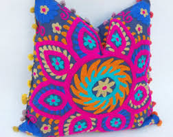 indian pillows etsy