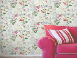 papier peint chambre fille leroy merlin salon vintage avec ce papier peint floral leroy merlin
