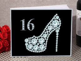 sweet 16 guest book sweet sixteen guest sign book from 12 60 hotref