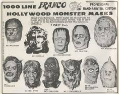 don post reissues monster fun pinterest horror masks