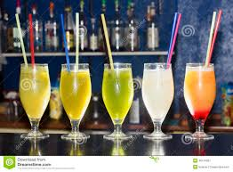 cocktail drinks alcoholic cocktail drinks on a bar stock photo image 48144007