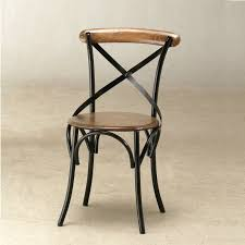 Cross Back Bistro Chair Wooden And Iron Bistro Chair Atfuvf413 Jason U0027s Floors