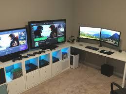 l shaped desk gaming setup l shaped desk setup fresh l shaped desk gaming setup good desks for